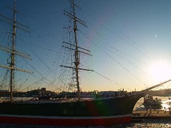 Impressionen in Hamburger Hafen