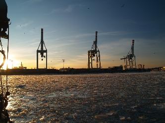 Impressionen im Kontainerhafen