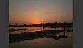 Sonnenuntergangsromantik über Varanasi
