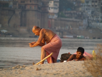 Leben am Ganges
