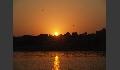Drachen über Varanasi